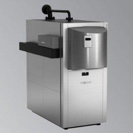 Viessmann Vitocrossal 300 CT3B однокотловая установка с контроллером для постоянной температуры подачи, котловой блок разделяемый