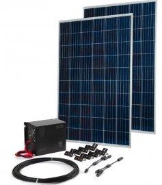 Комплект TEPLOCOM Solar-800 + Солнечная панель 250 Вт х 2