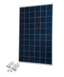 Солнечная панель поликристаллическая 250 Вт с универсальным креплением