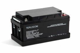 Аккумулятор герметичный свинцово-кислотный TEPLOCOM 65Ач