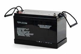 Аккумулятор герметичный свинцово-кислотный TEPLOCOM 100Ач
