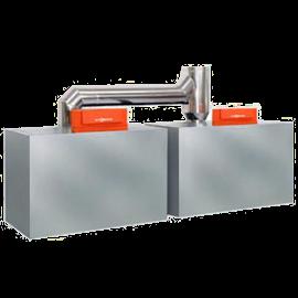 Два котла Vitogas 100-F c базовой комплектацией для многокотловых установок 29/58 кВт