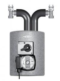 С насосом Grundfos Alpha2 15-60 (до 120 м2 )