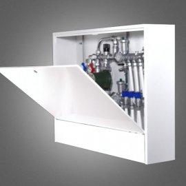 Шкаф наружный глубокий (180) с внутренней дверцей 450мм (ШРН-180-1Г)