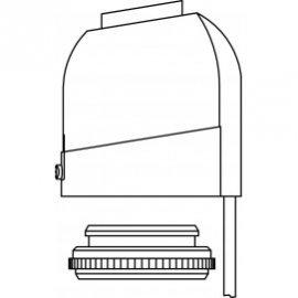 Термоэлектрический сервопривод, 24 В, М 30 x 1,5 мм