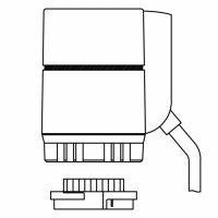 Термоэлектрический сервопривод 230 В, М 30 x 1,5 мм