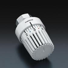 Термостат Uni LH М 30x1,5, серого цвета, с декор. кольцом