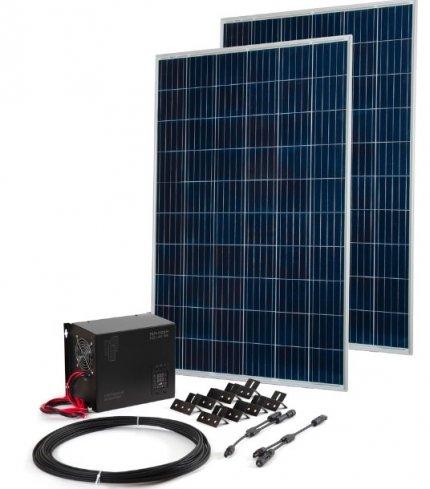 Комплект TEPLOCOM Solar-1500 + Солнечная панель 250 Вт х 2