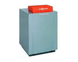 Газовый котел Viessmann Vitogas 100-F 35 кВт c автоматикой KC4B GS1D876