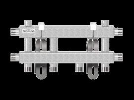 MK-40-3D (до 40 кВт, магистраль G ¾″, 3 контура G ¾″ из них 2 вертикальных)