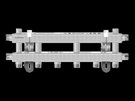 MK-40-4D (до 40 кВт, магистраль G ¾″, 4 контура G ¾″ из них 3 вертикальных)