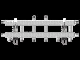MK-40-5V (до 40 кВт, магистраль G ¾″, 5 контуров G ¾″ из них 3 в сторону)
