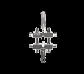 MKSS-40-3DU (до 40 кВт, магистраль G ¾″, 3 контура G ¾″ звездочкой)