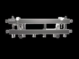 MKSS-40-4D (до 40 кВт, магистраль G ¾″, 4 контура G ¾″ из них 3 вертикальных)