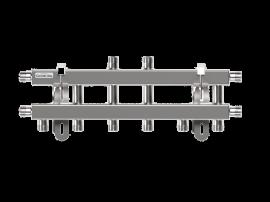MKSS-40-5V (до 40 кВт, магистраль G ¾″, 5 контуров G ¾″ звездочкой)