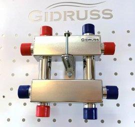 MKSS-60-3DU (до 60 кВт, магистраль G 1″, 3 контура G 1″ звездочкой)