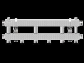 MK-100-3 (до 100 кВт, 2 магистр. подкл. G 1¼″, 3 контура G 1″ вверх или вниз)