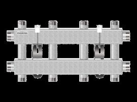 MK-100-4DU (до 100 кВт, 2 магистр. подкл. G 1¼″, 2 контура G 1″ вверх и 2 вниз)