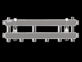 MKSS-100-3 (до 100 кВт, 2 магистр. подкл. G 1¼″, 3 контура G 1″ вверх или вниз)