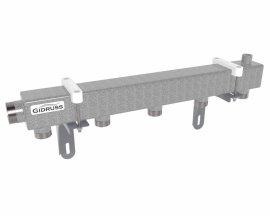 DM-32-25x5 (магистральное подкл. G 1¼˝, 5 контуров G 1˝, воздухоотвод. Rp ½″)