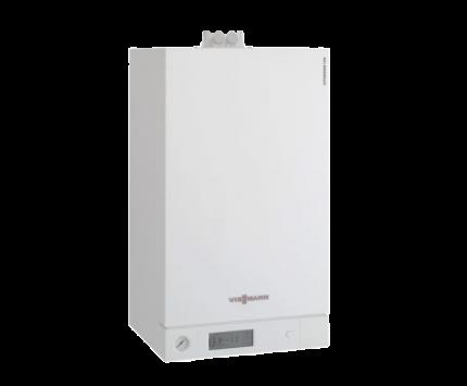 Газовый котел Viessmann Vitodens 100-W 19 кВт (сжиженный газ) B1HC044