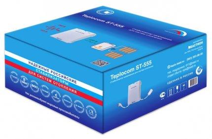 Фирменная упаковка сама расскажет покупателю все о стабилизаторе Teplocom ST-555
