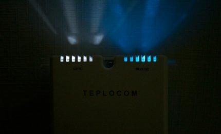 Мягкая светодиодная подсветка стабилизатора Teplocom ST-555